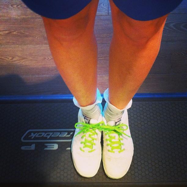 Prova su step delle mie nuove Nike e vecchie conferme