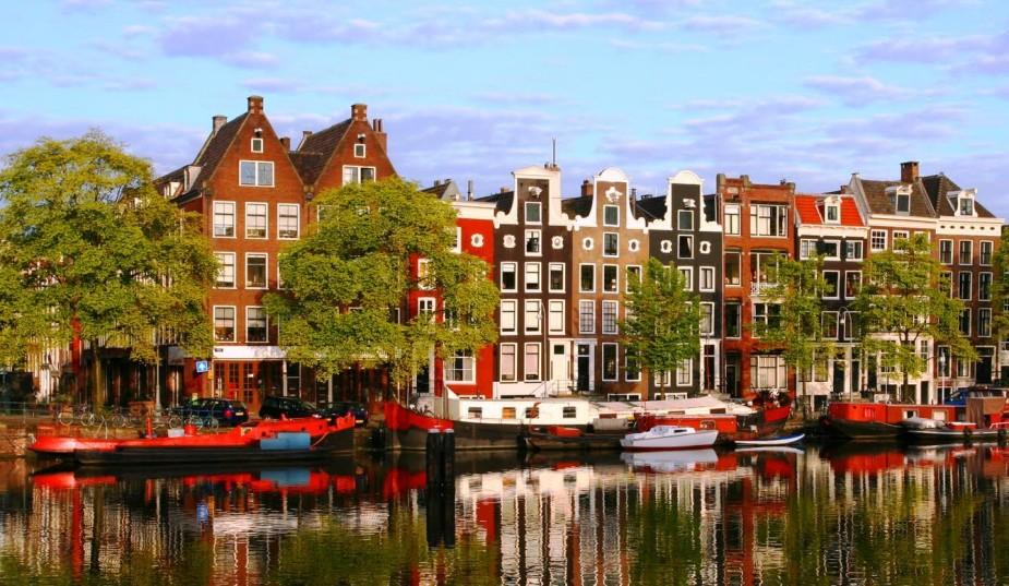 Amsterdam-Case+lungo+i+canali