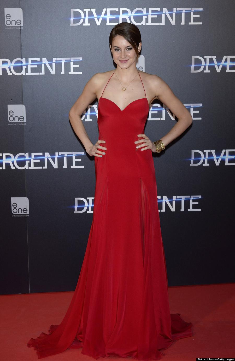 'Divergent' Madrid Premiere