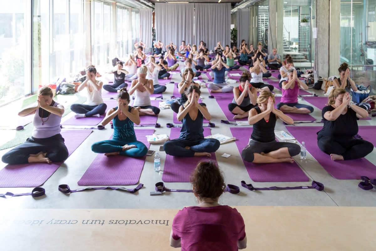 We love yoga, la mia esperienza al FashionCamp
