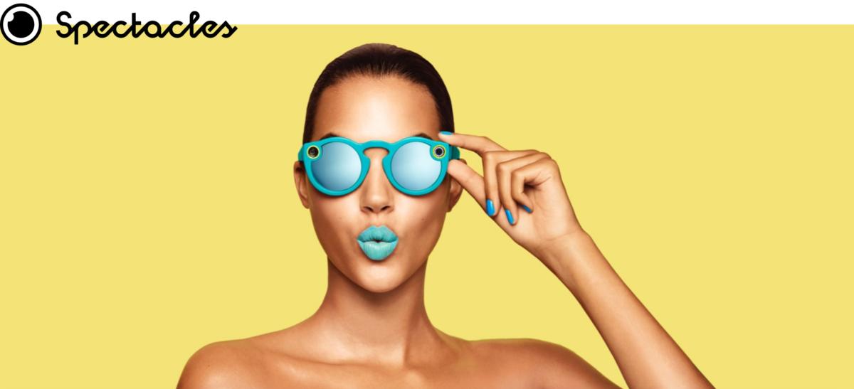 Snapchat, questi occhiali sono uno Spectacles!